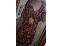 Karen Millen Floral dress Size 14