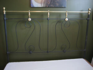 Antique 1890 Brass bed FRAME
