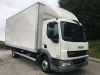 2012 62 DAF LF 45.160 Euro 5 20ft grp box, manual, 210kms