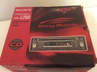 SONY CAR RADII CD PLAYER