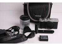 Fujifilm X-A2 Camera & 16-50 IS lens + Grip + Bag