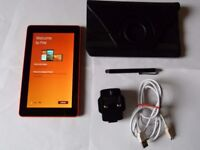AMAZON KINDLE FIRE HD7 - 5TH GEN -TANGERINE -8 GB SD Card Slot -IN EXCELLENT Condition/Working Order