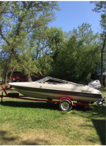 1997 SumaPro boat and trailer for sale