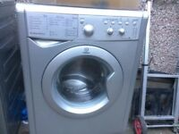 £93.00 Indesit grey washing machine+6kg+1200 spin+family load+3 months warranty for £93.00