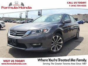 2014 Honda Accord Sedan SPORT | HEATED SEATS | REAR-VIEW CAMERA