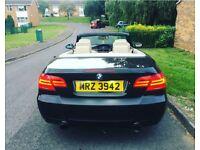 BMW Auto convertible 330D bhp268 msport idrive Swap p/x full service history stamped