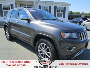 2014 Jeep Grand Cherokee Limited $267.20 BIWEEKLY!!!