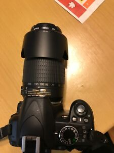 Nikon D3100 with 55-200mm lenses