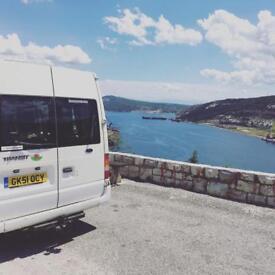 Transit campervan