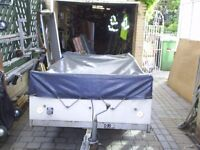 outer weather cover for trailer tent fits type with end kitchen approx 8x4