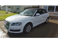 Audi A3 Cabriolet 1.9tdi White with black soft top - MOT July 2017 and recent service - Stunning