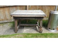Wooden garden table 2