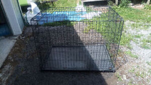 """XL Petmate Dog Cage (Crate) 28"""" x 42"""" x 30"""" with tray- MADOC"""