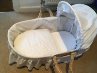 Moses basket *updated 20/8*