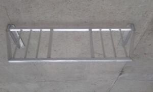 Headache rack side rails boat rack