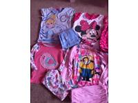 Girls 5-6 pjs good used condition
