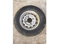 165/R13C Trailer Wheel and Tyre
