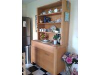 Habitat solid oak kitchen or dining room cupboard / sideboard / dresser