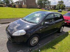 2007 Black 1.2 Fiat Punto