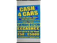 £££ ALL CARS AND VANS WANTED FOR CASH ENY AGE ENY CONDITION £££