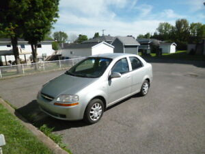 2005 Chevrolet Aveo LS Berline