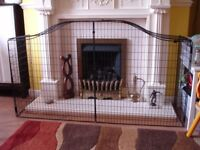Fireguard classic style for a fireplace surround. Used, very good condition.