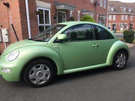 VW beetle 2002 Low mileage