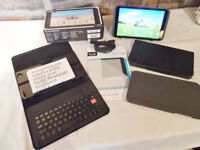 Tesco Hudl 2 - As new with extras: Bluetooth Keyboard/Screen Protector / 2 x Cases - As New