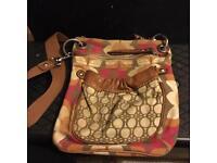 Fossil Flower Over The Shoulder Bag