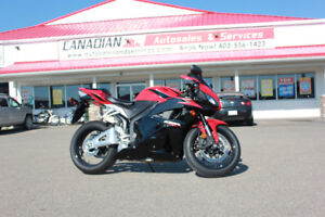 2011 HONDA CBR600RR LOW KMS!! $149/SEMI MONTHLY OAC