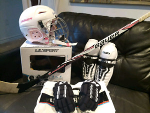 Ensemble fillette pour dek hockey