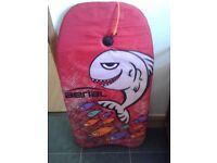 Child's Body Board with tow cord. 'Ariel' design..