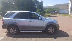 Kia Sorento 2.5 diesel Automatic. Sale/Swap for a 7 seater