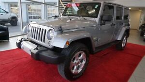 2014 Jeep Wrangler Unlimited Sahara+2 Toits+GPS+Marchepieds