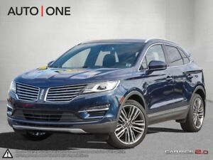 2016 Lincoln MKC RESERVE AWD 285 HP ECOBOOST