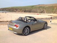 MUST SEE BMW Z4 SUMMER IS HERE. COMES WITH HARD TOP FOR WINTER.