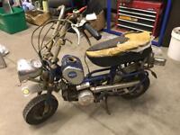 1970 Benelli Buzzer monkey bike