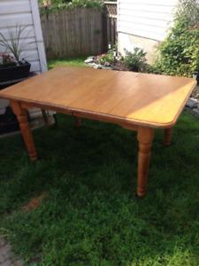 Harvest Table 7' long