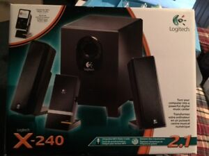 Logitech Computer Speakers with sub