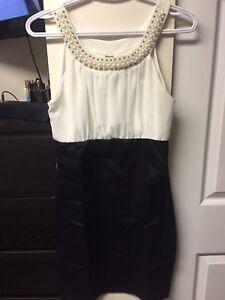Pearl  neck dress
