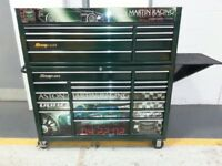 Snap on kra 53inch tool box and shelf