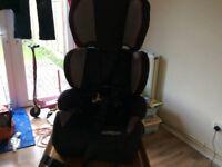Pampero Safetrip child car seat, hardly used