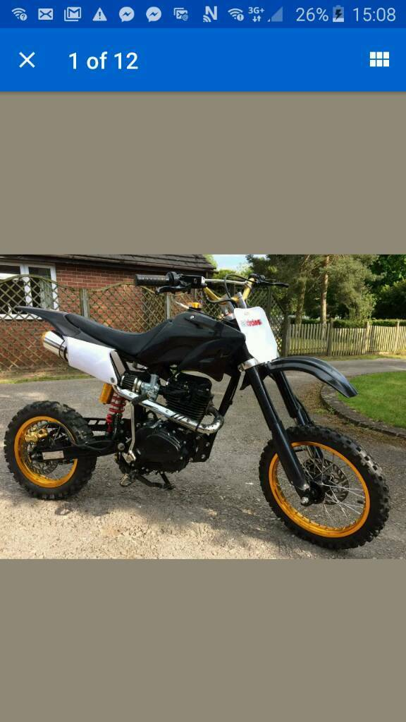 150cc pit bike (Lifan) like new