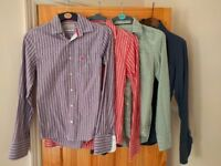 Job Lot of XS Jack Wills Clothes - 4x Shirts (inc. 1x Linen) and 1x Board Shorts