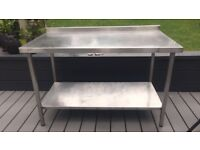 Stainless Steel Preperation Table