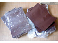 PREMIUM QUALITY CARRIER BAGS IN CHOCOLATE BROWN LAMINATED PAPER