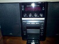 JVC Micro System UX-GP5- CD/Radio/Docking Station