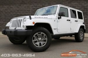2015 Jeep WRANGLER UNLIMITED RUBICON \ 6 SPEED MANUAL \ PAINTED