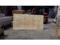 8x4 external plywood boards 18mm thick.new