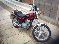 Honda cm 125 03 plate